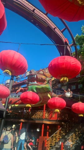 Tivoli (and Dragon in Tivoli's China Town)